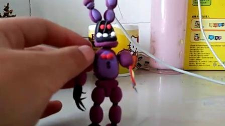 克苏鲁玩具熊的午夜后宫 粘土制作 迷你版