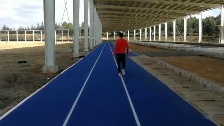 马拉松冠军🏆杨定宏🏆示范动作髋部灵活性协调性力量训练