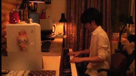 钢琴别恋《独角戏》钢琴曲。faded钢琴教学