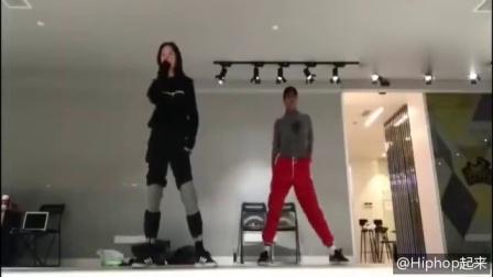 热血街舞团孟佳舞蹈练习室版与EXO编舞师!