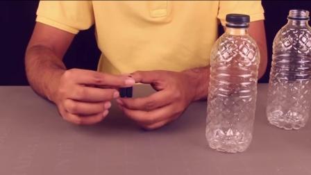 使用塑料瓶制作不间断的苍鹭喷泉_ DIY喷泉