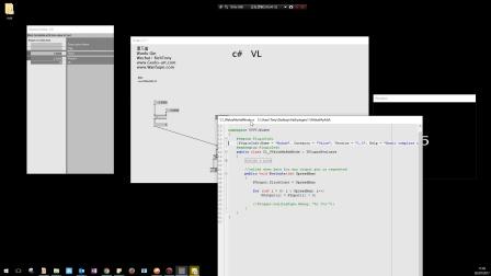 VVVV基础教程 十二: 编程语言 VL & C#