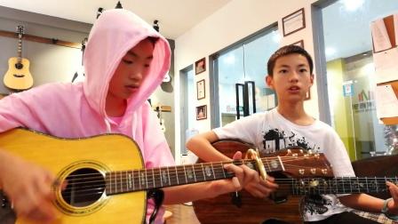 吉他弹唱#李白#