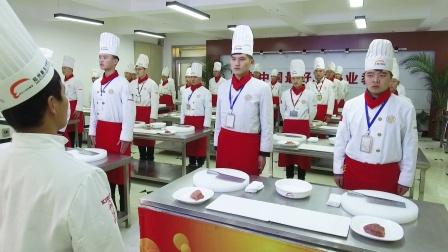 郑州新东方烹饪学校刀工基本功教学展示