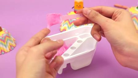 小铅笔 玩乐实验室 双色冰淇淋食玩