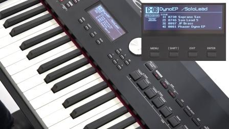 Roland RD-2000快速指南 #03——一键快速设置功能