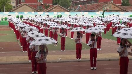 齐河县第一实验小学五年级团体操