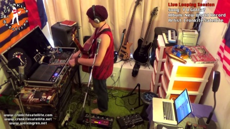 卫星人 Y U Gotta 为什么 [Live Looping Orig] cronkite satellite