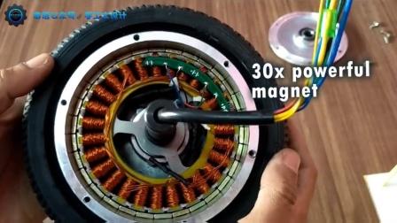 Hoverboard车轮电机里面的一些构造
