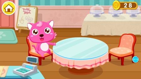 宝宝巴士&奇妙咖啡餐厅☕️还有甜甜圈花茶蛋糕冰激凌呢😊~