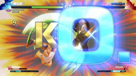 街霸5AE - Daigo Umehara vs Trashbox