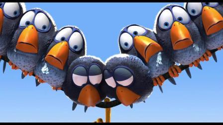 【皮克斯动画短片】鸟!鸟!鸟!