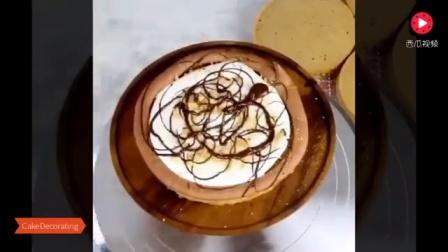 10种超酷的蛋糕装饰技巧, 看着超爽的