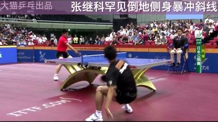 【第31集】业余学乒乓之张继科正手标准弧圈球动作