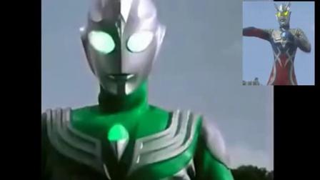 奥特曼: 绿色的迪迦奥特曼吗比绿巨人还绿哦!