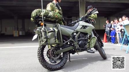 日本摩托车特别小组与川崎KLX250一起训练的日常