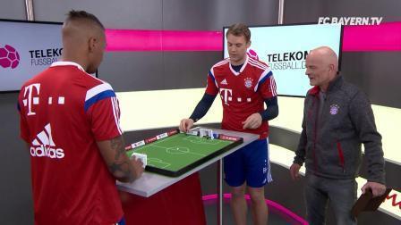 诺伊尔和博阿滕的桌上足球之战——天猫有售噢