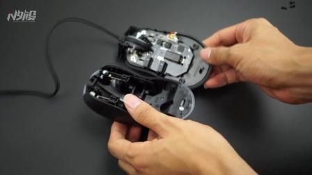 永不双击的鼠标: 富勒G90拆解视频