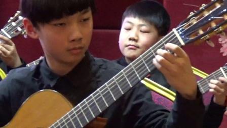 郑州古典吉他音乐会四月天吉他黄涛老师少儿学员《托里托舞曲》