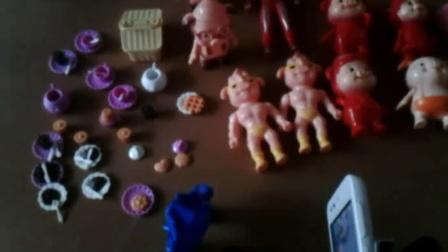 变形警车珀利玩具 橡皮泥制作彩色冰淇淋,美味的样子。 (3)