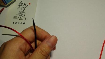 【鹿儿手作】穿南瓜珠的方法 绳结编法教程 手工DIY手绳手链教程
