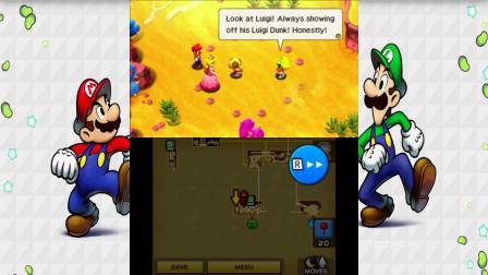 【雪激凌解说】3DS马里奥与路易RPG DX EP25:凯瑟琳与被毁的豆子王国