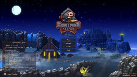【风笑试玩】黑心守墓人丨Graveyard Keeper 试玩