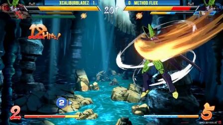 Winter Brawl 12 - Dragon Ball FighterZ Top 32 - XCaliburBladez vs Method Flux