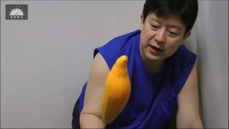 【原种真鳄龟】用蔬菜瓜测试黄金大鳄龟的咬力 -原版超清1080P