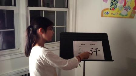 龙凤双语学习网 15 Book1 基本笔画 Lesson 6 Tí 提