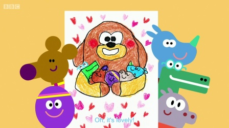 Hey Duggee 第一季 01.The Drawing