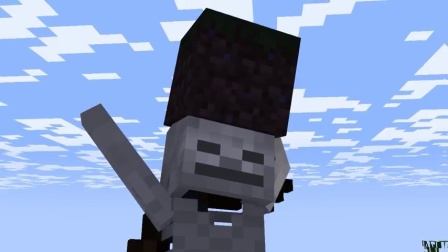 我的世界动画片 骷髅和僵尸你们想干嘛~