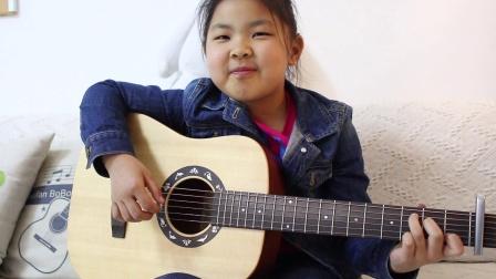 学生尔兰弹唱《红河谷》小凡伯伯吉他教室 万柳吉他尤克里里教学