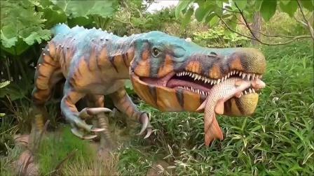 恐龙乐园 恐龙动画片 恐龙展示启蒙教育 恐龙大认知