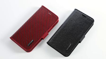 Napov Carbon Fiber Flip Case