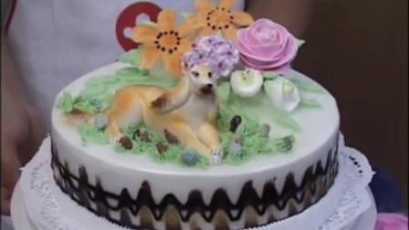宁波翻糖蛋糕--翻糖蛋糕抹面
