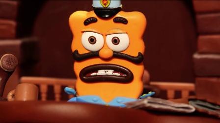 《饼干警长 精华版》50 诡异频发生,透明警长捉弄人