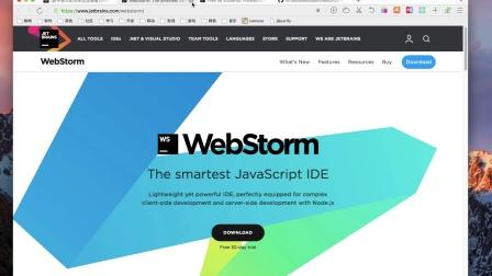 1.7 开发工具选用WebStorm.mp4
