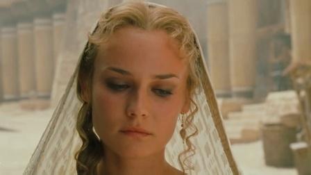 2004版《特洛伊》,泪美人黛安·克鲁格,真是美极了!