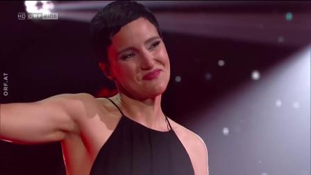 """弗尔里希亮相音乐界""""奥斯卡""""颁奖礼Ina Regen Wie a Kind  Amadeus Award 2018 (Do 26.04.2018 - ORF)"""
