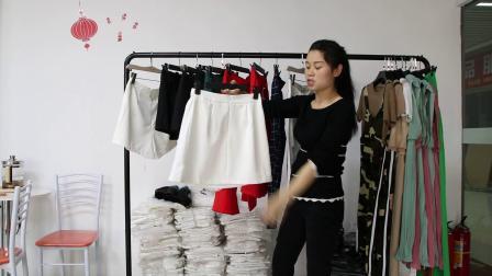 精品女装批发服装批发时尚夏装新款精品女士短裙裤子清货混批20件起批,挑款零售混批