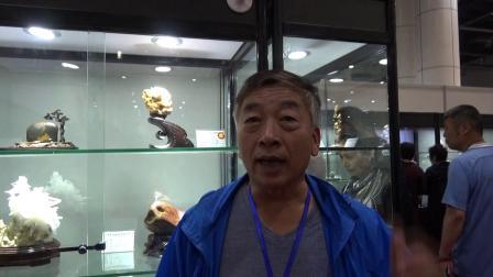 杜正红的《老妪》和《老姜》在大连首届观赏石精品展摘金夺银