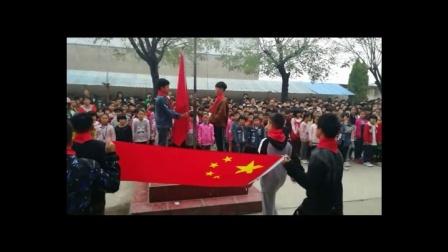 沈丘县风华学校2017年少先队员入队仪式