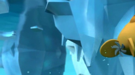 竖版《海底小纵队 特别篇》09 独角鲸艇帅气上岸 海底小纵队探寻奇怪音源