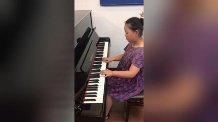 宇航钢琴弹奏《车尔尼599》乐曲