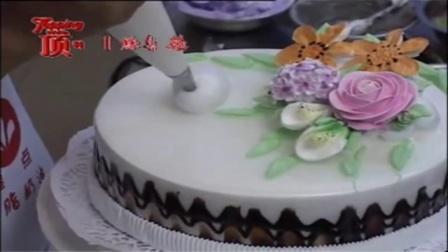 创意翻糖蛋糕 蛋糕裱花模具使用教程