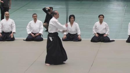 56届全日本合气道演武大会 多田宏(九段)演武
