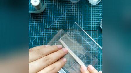 【惑一阁银粘土教程】戒指芯做戒指的方法
