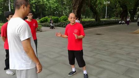 黎钊华师傅教你玩黎式咏春之铁裆功(修正版)