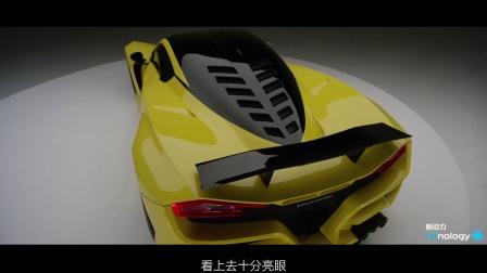 【触动力】百公里加速仅2秒 赫尼西Hennessey Venom F5跑车